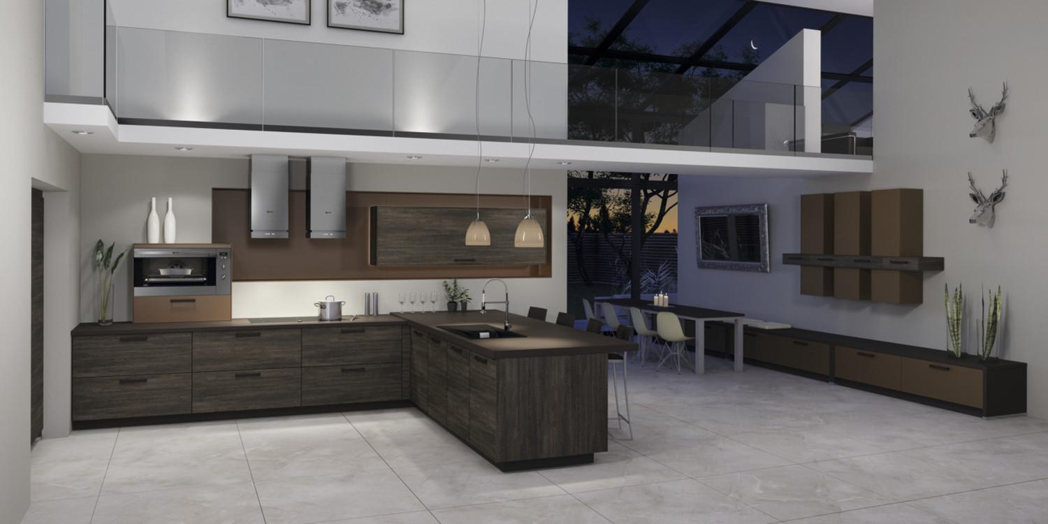 Grey White Kitchen Modern