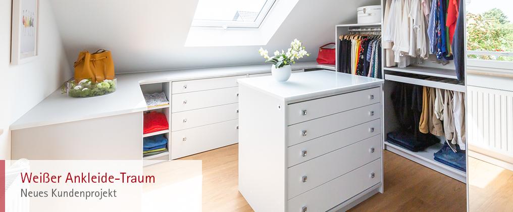 Weißer Ankleide-Traum - Neues Kundenprojekt