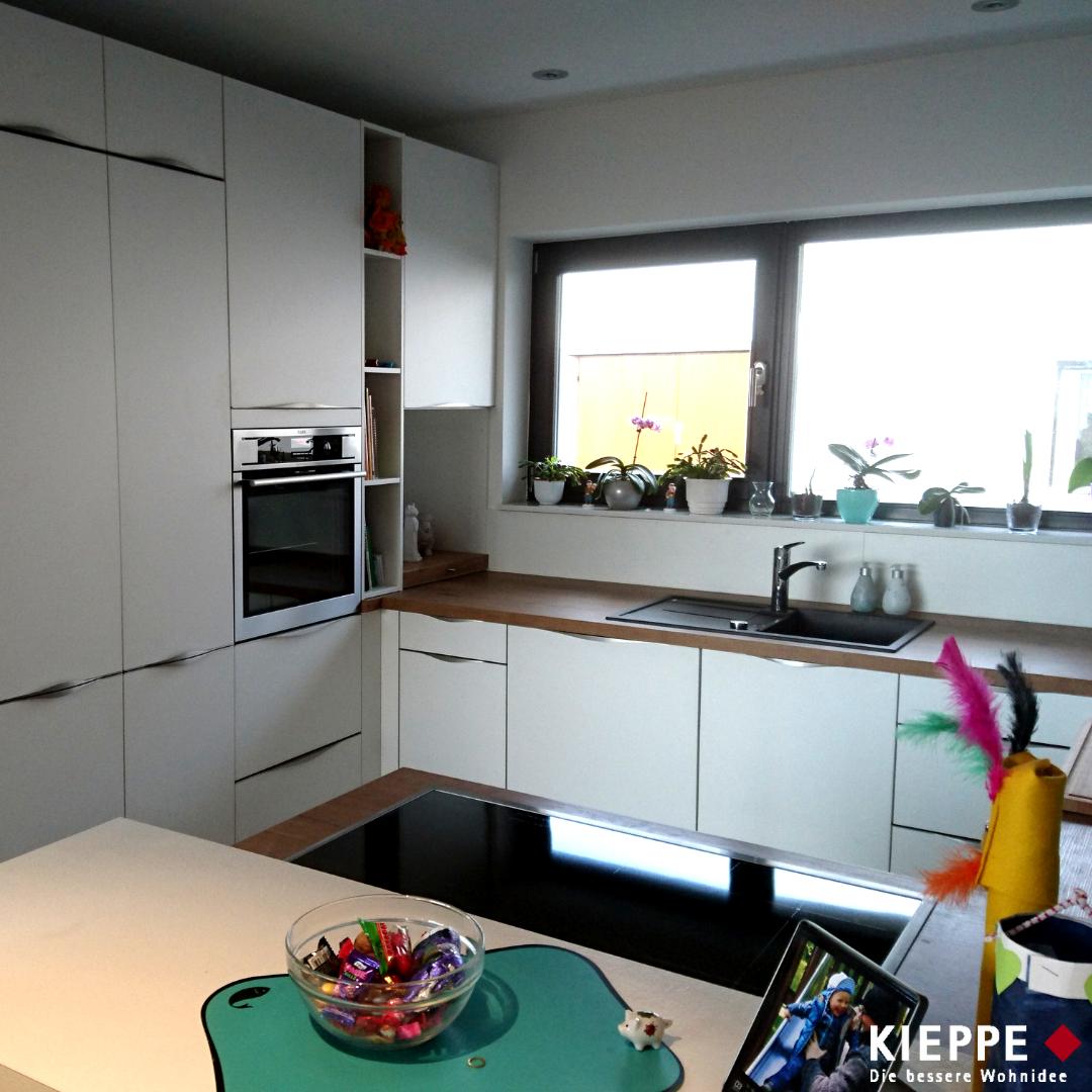Küche In Weiß Und Holz Jena 2016 Kieppe
