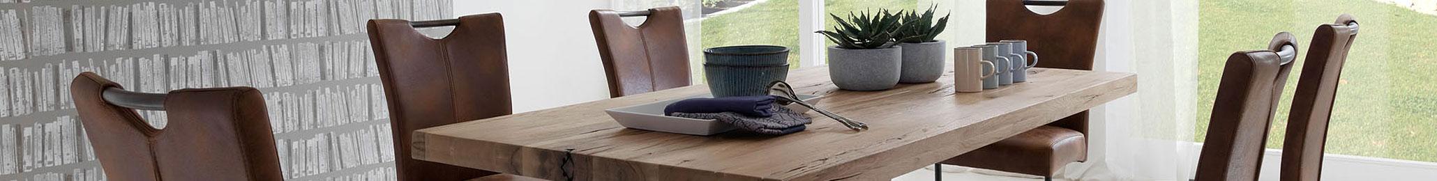 Tisch und Stühle - Speisezimmer - Echtholz