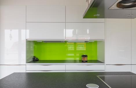 Küche als Einbauschrank