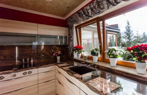 Granit in der Küche