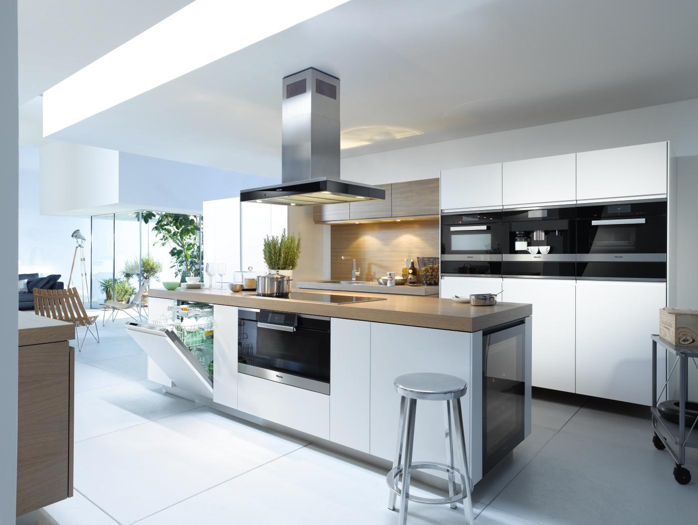 Attraktiv Kücheninsel, Küchenblock, Küchenhochschrank, Kücheneinbauschrank    Einbauküche