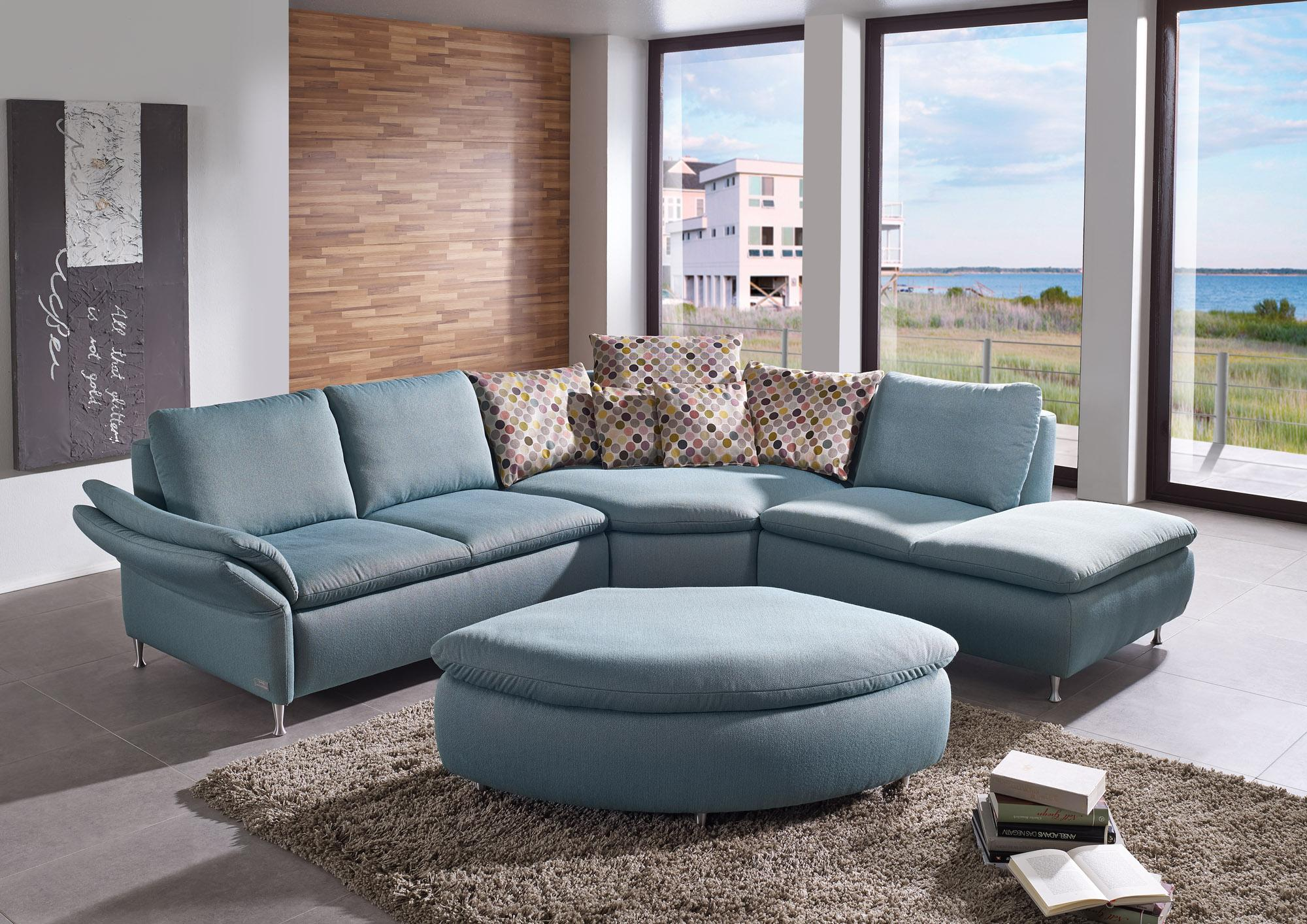 Exquisit Big Sofa Mit Hocker Referenz Von Great Good Modernes Riesiger Rundecke Und Passendem