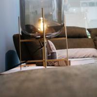 Tischlampe , Wohnzimmer, Erfurt, Designerlampe, Lampe Vintage