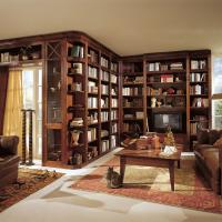 Anspruchsvolle Bibliotheken nach Maß in den verschiedensten Stilrichtungen, allen Maßen und top geplant - Einbauschränke bei Kieppe als Eckvariante mit Klassik Bibliothem