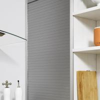 Keine toten Winkel – Jalousienschrank in der Küche - Rolle in der Küche