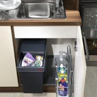 Mülltrenneung im Spühlenschrank einfach und günstig