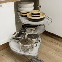 Ecklösung für Töpfe Küchen in Thüringen