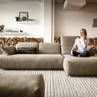KOINOR - AVIVO - modernes Ledersofa, sofa gut sitzen, Sofa , Modern, Arnstadt, Erfurt. Sofa kaufen, Poslstergarnitur Erfurt, KOINOR Thürimgen, Chillig sitzen, hohe Sitztiefe, große Stitztiefe, Rückenverstellung