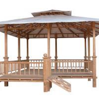 die Große Sonnenliege Pavillion aus Teakholz - Teakmöbel