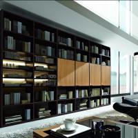 Anspruchsvolle Bibliotheken nach Maß in den verschiedensten Stilrichtungen, allen Maßen und top geplant - Einbauschränke bei Kieppe als Eckvariante mit Schiebetüren