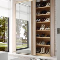 Schuhschrank mit Spiegel