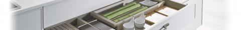 Funktionaler Küchenauszug mit vielseitigen Einsatzzwecken