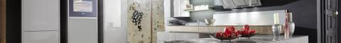 Küchenzeile in zeitgemäßer Optik