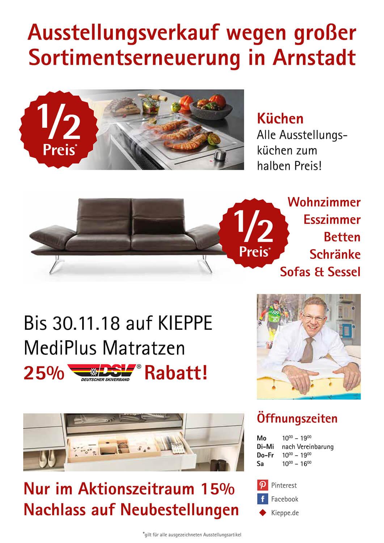 Sparen Beim Großen Ausstellungsabverkauf In Arnstadt 2018 Kieppe